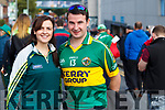 Helena and Sean Falvey (Firies, Killarney), pictured at the All Ireland Minor Football Final of Kerry v Derry in Croke Park on Sunday last.
