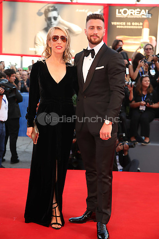 Sam Taylor-Johnson and Aaron Taylor-Johnson attend the premiere of 'Nocturnal Animals' during the 73rd Venice Film Festival at on September 2, 2016 in Venice, Italy<br /> CAP/GOL<br /> &copy;GOL/Capital Pictures /MediaPunch ***NORTH AND SOUTH AMERICAS ONLY***