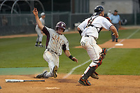 SAN ANTONIO, TX - MAY 18, 2007: The Texas State University Bobcats vs. The University of Texas at San Antonio Roadrunners Baseball at Roadrunner Field. (Photo by Jeff Huehn)