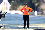 WILMINGTON, NC - OCTOBER 27: Florida's Carlotta Ricolfi (ITA) on the 12th hole. The first round of the Landfall Tradition Women's Golf Tournament was held on October 27, 2017 at the Pete Dye Course at the Country Club of Landfall in Wilmington, NC.