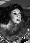 Diahann Carrolll attends A Barnes & Noble in store book signing for new Memoir 'Diahann!' on April 1, 1986 in New York City.