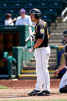 Dayne Parker (11) of the Wichita State Shockers at bat during a game against the Missouri State Bears on April 9, 2011 at Hammons Field in Springfield, Missouri.  Photo By David Welker/Four Seam Images