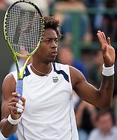 24-06-11, Tennis, England, Wimbledon, Gail Monfils