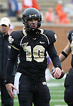 07 October 2006: Wake Forest's Kevin Patterson. The Clemson University Tigers defeated the Wake Forest University Demon Deacons 27-17 at Groves Stadium in Winston-Salem, North Carolina in an Atlantic Coast Conference NCAA Division I College Football game.