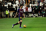 FC Barcelona's Sergi Roberto during La Liga match between Rayo Vallecano and FC Barcelona at Vallecas Stadium in Madrid, Spain. November 03, 2018. (ALTERPHOTOS/A. Perez Meca)