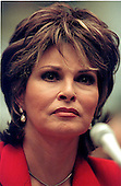Raquel Welch testifies before the United States  House Government Reform Committee on the Dietary Health and Education Act in Washington, D.C. on March 25, 1999..Credit: Ron Sachs / CNP