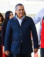 Jose Antonio Meade Kuribre&ntilde;a precandidato a la presidencia de la republica por el Partido Revolucionario Institucional ,PRI, asisti&oacute; al Quinto Foro Puntos de Encuentro: M&eacute;xico Potencia Sustentable donde se le vio acompa&ntilde;ado de Beltrones. Sal&oacute;n Parten&oacute;n del Hotel Santorian de Hermosillo Sonora a 26 enero 2018. <br /> (Foto:Luis Gutierrez/NortePhoto.com)
