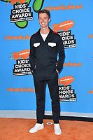 Patrick Schwarzenegger at Nickelodeon's 2018 Kids' Choice Awards at The Forum, Los Angeles, USA 24 March 2018<br /> Picture: Paul Smith/Featureflash/SilverHub 0208 004 5359 sales@silverhubmedia.com