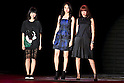 (L to R) Mirei Tanaka, Nicole Ishida, LiLiCo, August 15, 2014:  (L to R) The actresses Mirei Tanaka, Nicole Ishida and  LiLiCo wearing fashion brand H&M walk down the catwalk during the Fashion Runway Show of a-nation & GirlsAward island collection 2014 at the Yoyogi Gymnasium in Shibuya, Japan in August 15, 2014 in Tokyo, Japan. This year the event has collaborated with the Japanese fashion magazines CanCam, Numero Tokyo, nicola, it LOVE, NYLON JAPAN, non-no and sweet. (Photo by Rodrigo Reyes Marin/AFLO)