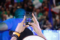 """SÃO PAULO, SP, 31.08.2018 - CARNAVAL-SP - A escola de samba da Zona Norte de São Paulo Unidos de Vila Maria definiu seu samba para o Carnaval de 2019, com o tema """"Nas asas do grande pássaro, o voo da Vila Maria ao Império do Sol"""", na noite desta sexta, 31. (Foto: Nelson Gariba/Brazil Photo Press)"""