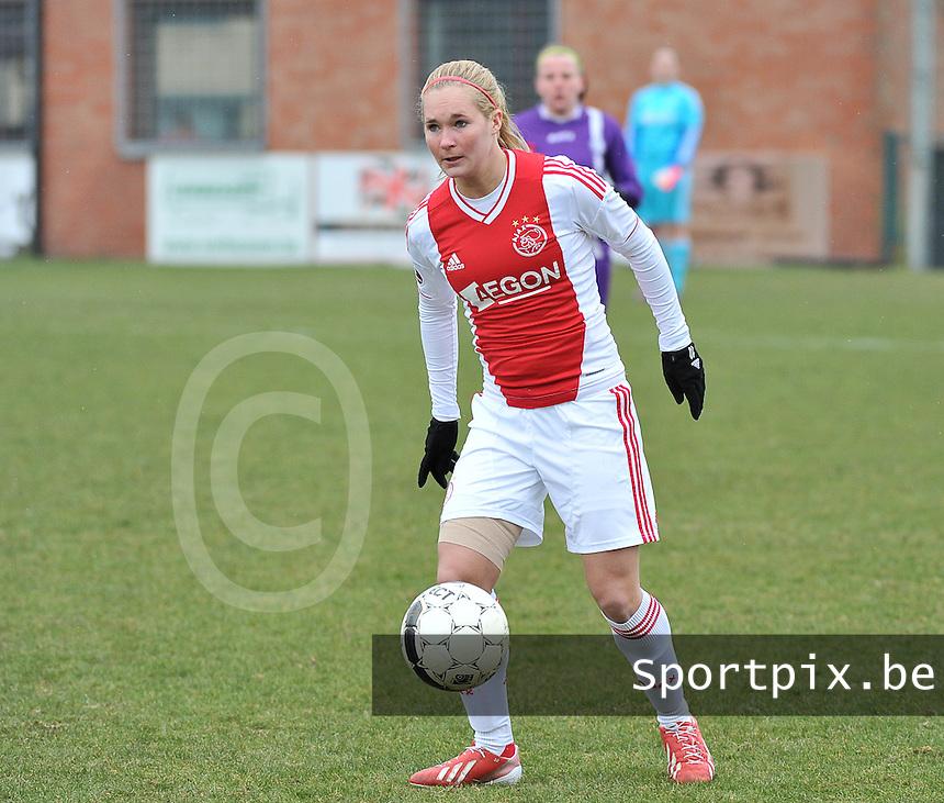 AJAX Amsterdam Dames : Desiree Van Lunteren.foto JOKE VUYLSTEKE / Vrouwenteam.be