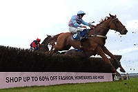 Mahlermade ridden by Alexander Thorne in The Weatherbys Racing Bank Silver Buck Handicap Chase during Horse Racing at Wincanton Racecourse on 5th December 2019