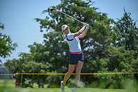 Jacqui Concolino (USA) watches her tee shot on 3 during round 2 of  the Volunteers of America LPGA Texas Classic, at the Old American Golf Club in The Colony, Texas, USA. 5/6/2018.<br /> Picture: Golffile | Ken Murray<br /> <br /> <br /> All photo usage must carry mandatory copyright credit (&copy; Golffile | Ken Murray)