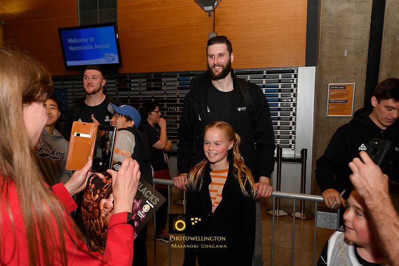 New Zealand Tall Blacks&rsquo; Alex Pledger, FIBA World Cup Basketball Qualifier - NZ Tall Blacks v Jordan at Horncastle Arena, Christchurch, New Zealand on Thursday 29 November  2018. <br /> Photo by Masanori Udagawa. <br /> www.photowellington.photoshelter.com