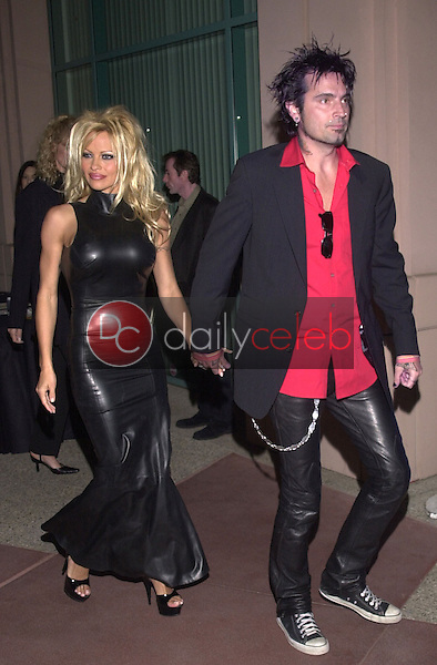 Pam Anderson and Tommy Lee