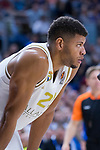 Tavares during Real Madrid vs Maccabi Fox of Day 2 of Euroleague Basketball. October 10, 2019. (ALTERPHOTOS/Francis Gonzalez)