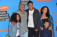 Mike Tyson Kakiha Tyson, Miguel Tyson, Morocco Syson &amp; Milan Tyson at Nickelodeon's 2018 Kids' Choice Awards at The Forum, Los Angeles, USA 24 March 2018<br /> Picture: Paul Smith/Featureflash/SilverHub 0208 004 5359 sales@silverhubmedia.com