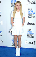 SANTA MONICA, 25.02.20-17 - SPIRIT-AWARDS -  Riley Keough durante Film Independent Spirit Awards em Santa Monica na California nos Estados Unidos (Foto: Gilbert Flores/Brazil Photo Press)