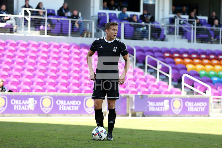 Orlando, Florida - Monday January 15, 2018: Matias Pyysalo. Match Day 2 of the 2018 adidas MLS Player Combine was held Orlando City Stadium.
