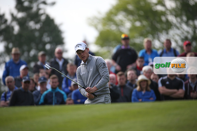 Danny Willett (ENG) during Round Two of the 2016 BMW PGA Championship over the West Course at Wentworth, Virginia Water, London. 27/05/2016. Picture: Golffile | David Lloyd. <br /> <br /> All photo usage must display a mandatory copyright credit to &copy; Golffile | David Lloyd.