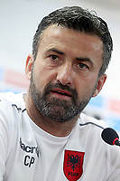 Albania's coach Christian Panucci in press conference before training session. October 5,2017.(ALTERPHOTOS/Acero)<br /> <br /> Foto Alterphotos / Insidefoto <br /> ITALY ONLY