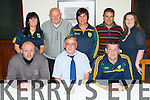 The Kerry Ladies committee appointed their new managent team in the Killarney Heights Hotel on Thursday night front row l-r: Niall Strength and Conditioning coach, Pat Hartnett Chairperson, Alan O'Neill Manager. Back row: Mary Foley Secretary, Gerry O'Mahony vice Chairman, Mary Foley Secretary, Harry O'Neill Coach and selector, Amelda Roche PRO