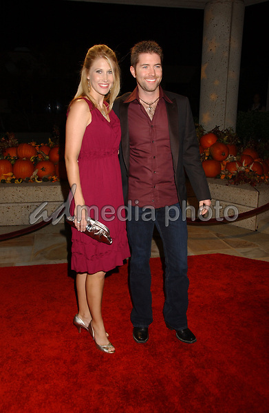 06 November 2007 - Nashville, Tennessee - Josh Turner and wife. BMI Country Awards 2007 held at BMI Headquarters. Photo Credit: Laura Farr/AdMedia
