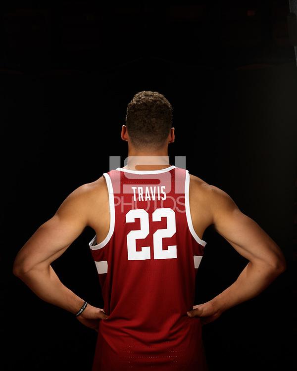 October 16, 2017 -- Stanford, CA:  Stanford's 2017-2018 Men's Basketball Team.