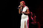 Singer Marta Sanchez during concert of Festival Unicos. September 23, 2019. (ALTERPHOTOS/Johana Hernandez)