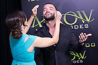 VANCOUVER, BC - OCTOBER 22: Nick Tarabay at the 100th episode celebration for tv's Arrow at the Fairmont Pacific Rim Hotel in Vancouver, British Columbia on October 22, 2016. Credit: Michael Sean Lee/MediaPunch