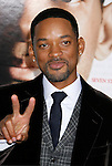 """WESTWOOD, CA. - December 16: Actor Will Smith arrive at the Los Angeles premiere of """"Seven Pounds"""" at Mann's Village Theater on December 16, 2008 in Los Angeles, California."""