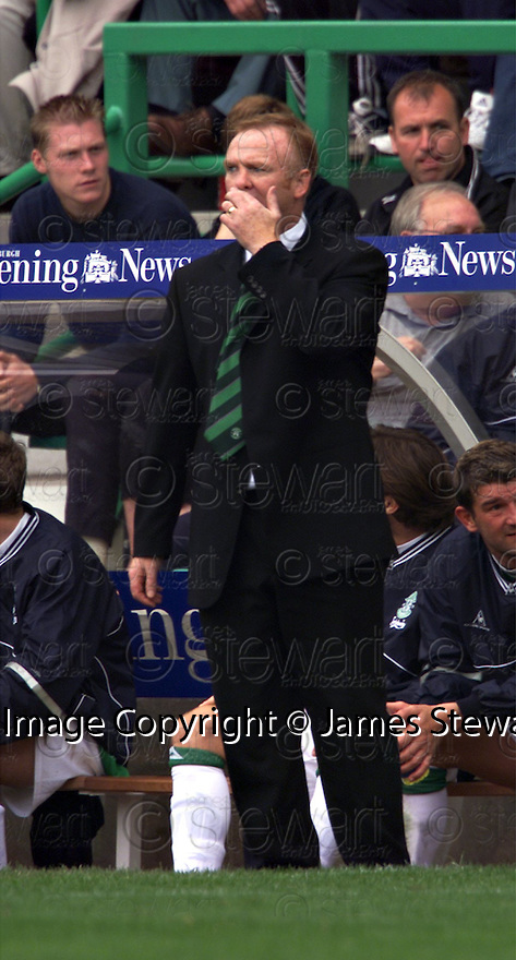 12/08/2001          Copyright Pic : James Stewart .Ref : 673N9292                          .File Name : stewart04-hibs v aberdeen.ALEX MCLEISH POTS ABERDEEN'S DOWNFALL....James Stewart Photo Agency, Stewart House, Stewart Road, Falkirk. FK2 7AS      Vat Reg No. 607 6932 25.Office : +44 (0)1324 630007     Mobile : + 44 (0)7721 416997.Fax     :  +44 (0)1324 630007.E-mail : jim@jspa.co.uk.If you require further information then contact Jim Stewart on any of the numbers above.........