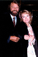 GLEN CAMPBELL AND<br /> TANYA TUCKER   JANUARY 1981<br /> LEAVING THE NBC BUILDING<br /> NEW YORK CITY<br /> CAP/MPI/MCB<br /> &copy;MCB/MPI/Capital Pictures