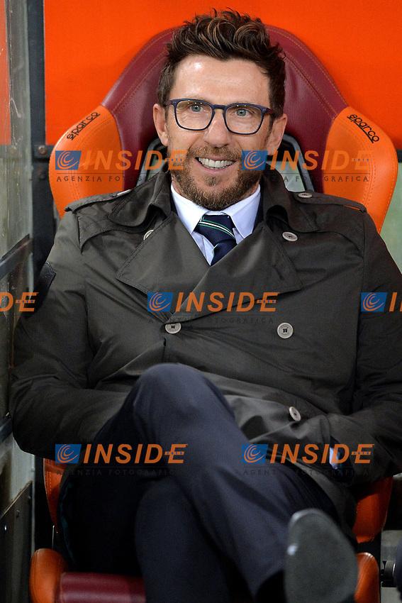 Eusebio Di Francesco, Sassuolo coach.<br /> Roma 19-03-2017  Stadio Olimpico<br /> Campionato Serie A, <br /> AS Roma - Sassuolo<br /> Foto Antonietta Baldassarre / Insidefoto