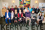 Enjoying the Tralee/West Kerry Branch of MS Society Christmas Party at Ballyroe Heights Hotel on Sunday were Front l-r  Sean Moran, Aileen Mckenna, Audrey Moran, Noreen Lacey, June Macauley, Noel Carmody, Tess Clirrord and Mary O'Sullivan. Back l-r Rachel O'Sullivan Hoffman, Suzanna Callahan, Bernadette Broderich, Eileen Whelan, Danny McElligott, Martin Lacey, Catriona Doody O'Connor, Bridie Carmody, Fr Sean Hanafin, John O'Sullivan