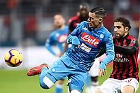 20190126 Calcio Milan Napoli Serie A