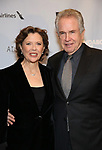 "Annette Bening and Warren Beatty attends the Broadway Opening Night After Party for ""All My Sons"" at The American Airlines Theatre on April 22, 2019  in New York City."