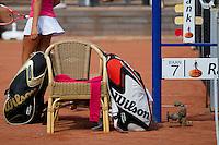 11-08-10, Hillegom, Tennis,  NJK 12 tm 18 jaar, Tennisbaggs