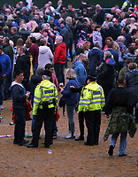 Police in the crowd<br />