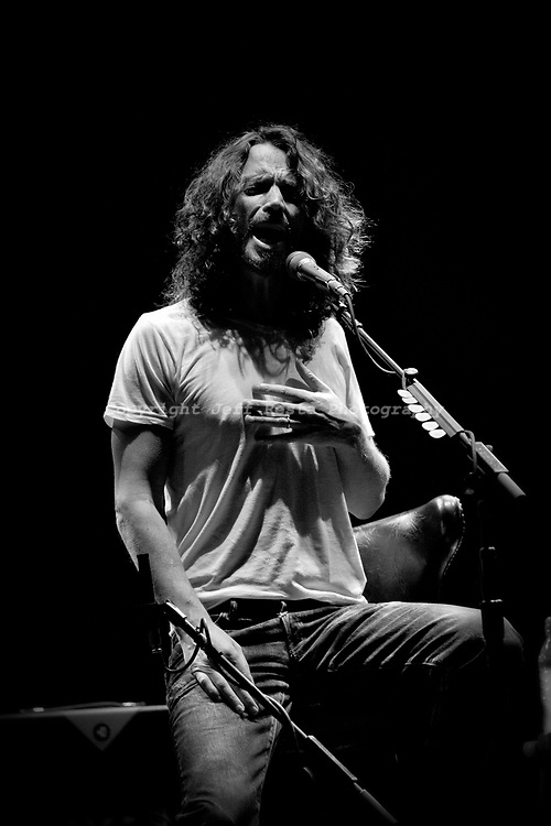 Chris Cornell live in concert at House of Blues on April 3, 2011 in Dallas, TX.