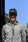 Tylar Farrar (USA) Team Dimension Data at the Team Presentation for the upcoming 115th edition of the Paris-Roubaix 2017 race held in Compiegne, France. 8th April 2017.<br /> Picture: Eoin Clarke | Cyclefile<br /> <br /> <br /> All photos usage must carry mandatory copyright credit (&copy; Cyclefile | Eoin Clarke)