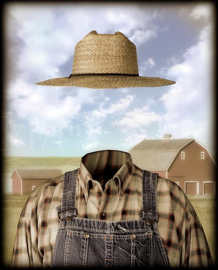 Invisable farmer.