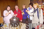 Mulled Wine - Enjoying the samples at The Arty Bits Annual Christmas Craft Fair held in The Carlton Hotel on Sunday were l/r Joanna McCarthy, Ballybunion, Michael & Marian Locke, Ballinorig, Mairead Griffin, Ballyroe and Carrie Kelly Ballyroe.