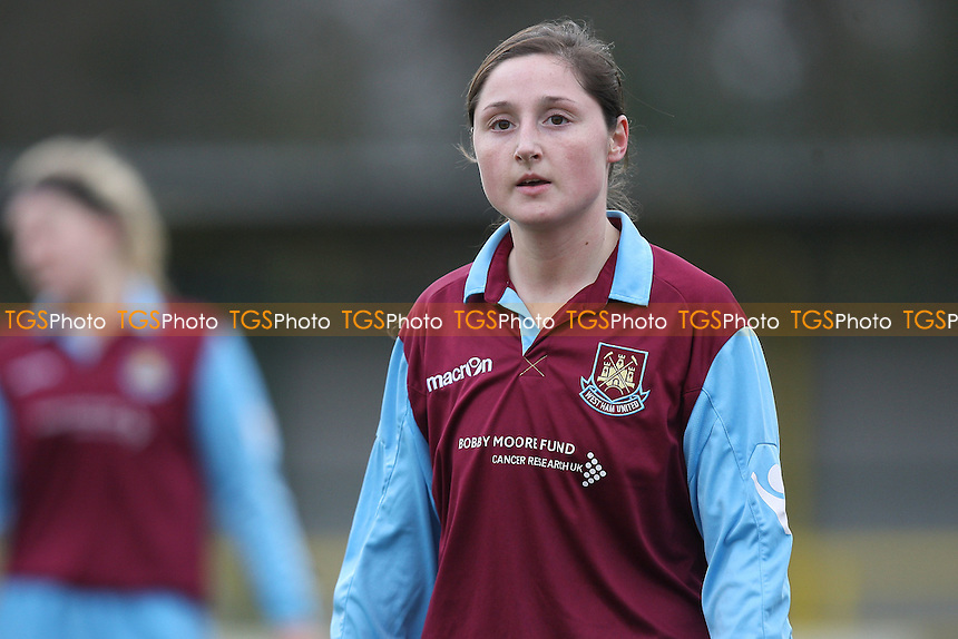Kayleigh Xidhas of West Ham - West Ham United Ladies vs Colchester United Ladies - FA Women's Cup 4th Round Football at Ship Lane, Thurrock FC - 06/03/11 - MANDATORY CREDIT: Gavin Ellis/TGSPHOTO - Self billing applies where appropriate - Tel: 0845 094 6026