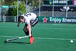 AMSTELVEEN - Wiegert Schut (Adam)   tijdens  de hoofdklasse competitiewedstrijd hockey heren,  Amsterdam-SCHC (3-1).  COPYRIGHT KOEN SUYK