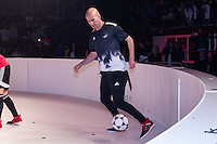 Real Madrid's coach Zinedine Zidane during the presentation of the new Adidas football boots in Madrid , Spain. December 08, 2016. (ALTERPHOTOS/Rodrigo Jimenez) /NortePhoto.com