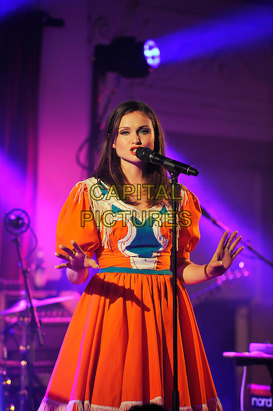 LONDON, ENGLAND - SEPTEMBER 8: Sophie Ellis-Bextor performing at Bush Hall on September 8, 2016 in London, England.<br /> CAP/MAR<br /> &copy;MAR/Capital Pictures