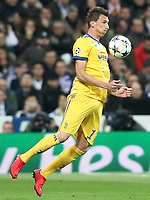 Juventus Football Club's Mario Mandzukic during Champions League Quarter-Finals 2nd leg match. April 11,2018. (ALTERPHOTOS/Acero) /NortePhoto.com