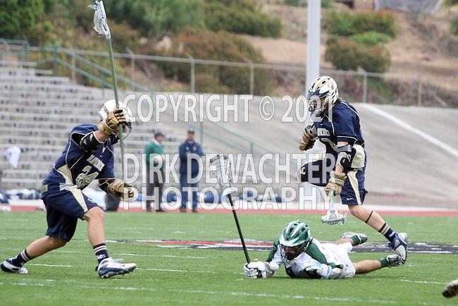 La Mesa, CA 05/30/09 - Jackson Kusick (#8), Reid Tudor (#24) and Alex Pardieu (#9)
