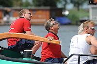 SKÛTSJESILEN: FRYSLÂN: SKS kampioenschap 2015, Skûtsje Lemmer schipper Albert Jzn. Visser, ©foto Martin de Jong